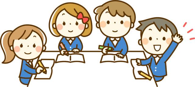 ベネッセ文章表現教室で楽しく作文を勉強する子どもたち