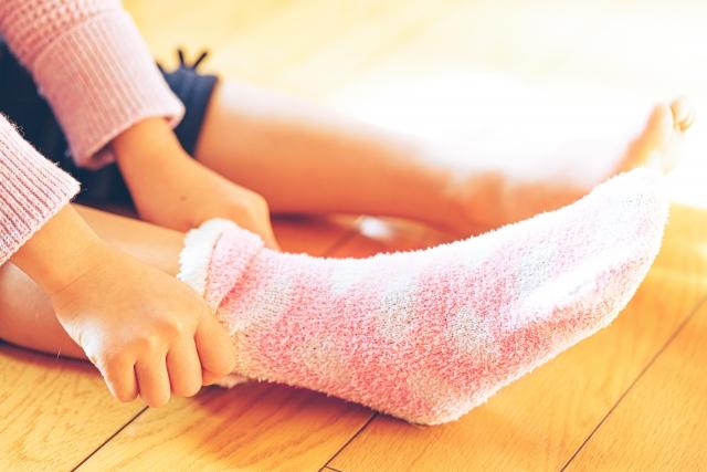 子供の足の臭いはなかなか消えない
